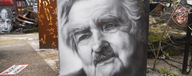 """josé mujica, painted portrait"" thierry ehrmann vía Flickr (CC by 2.0)"