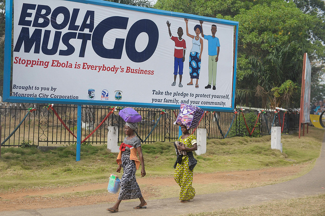 """Ebola must go"" UNMIL/Emmanuel Tobey vía Flickr (CC BY-ND 2.0)"