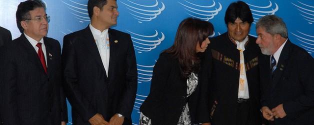 Cumbre UNASUR en Brasilia - Presidencia República Ecuador vía Flickr