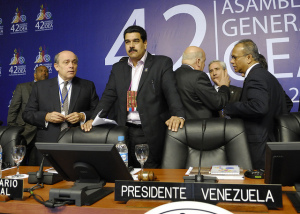 """First Plenary Session of the General Assembly"" OEA-OAS vía Flickr (CC BY-NC-ND 2.0)"