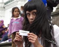 Manifestación en Ecuador contra aprobación del nuevo código penal pato chavez vía Flickr