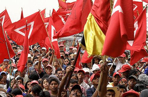Manifestación reivindicativa de derechos indígenas - Surizar vía Flickr  (CC BY-SA 2.0)