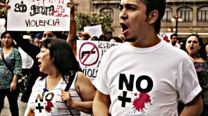 """""""No más sangre"""" Marcos Guevara vía Flickr (CC BY-NC-ND 2.0)"""