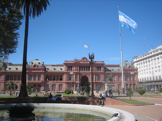 """Casa Rosada, Buenos Aires"" Stephen Colebourne vía Flickr (CC BY-ND 2.0)"