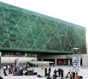 Museo de la Memoria de Chile. Fotografía de Boris Hau Espinosa.